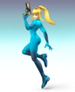 SSBB Artwork Zero Suit Samus.png