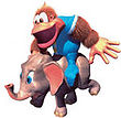 DKC3 Artwork Ellie & Kiddy Kong.jpg